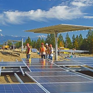 Construction starts on SunMine, Western Canada's largest solar development