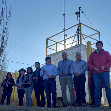 Supporting Community-led Air Quality Monitoring in Andacollo