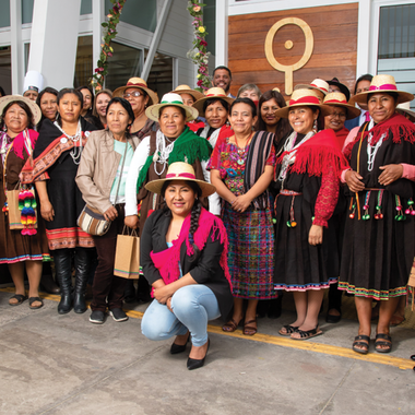 Supporting Centro Originarias, the First Indigenous Women's Empowerment Centre in South America