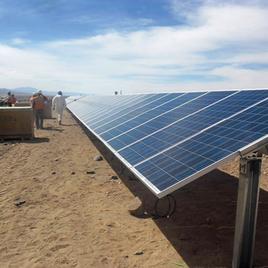 Supporting SDG 13: Harnessing Solar Power at Quebrada Blanca Operations