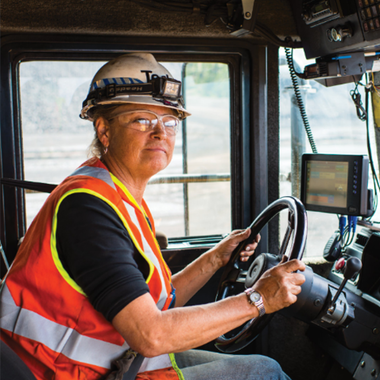 Real-Time Air Quality Monitoring Technology Helps Inform Decisions to Reduce Dust Exposure inside Haul Truck Cabs