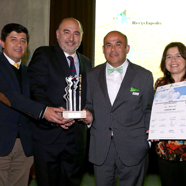 CDA Receives 2015 National Environment Award from the Recyclápolis Foundation in Chile