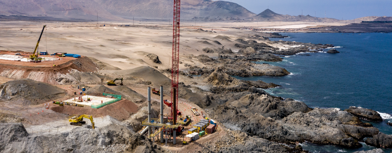 Building the First Large-Scale Desalination Plant for Mining in Chile's Tarapacá Region