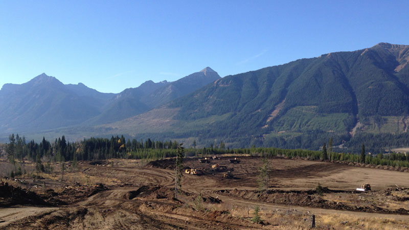 Soil Reclamation in the Elk Valley