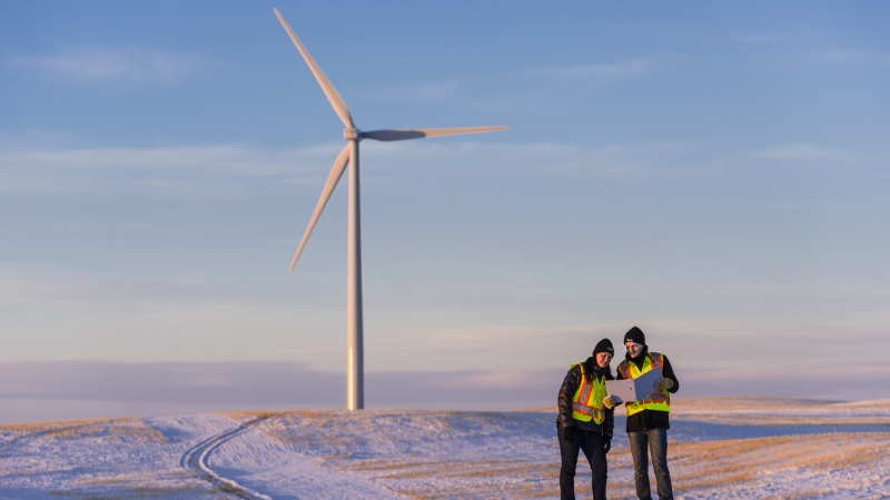 Community Celebrates Grand Opening of Wind Power Project